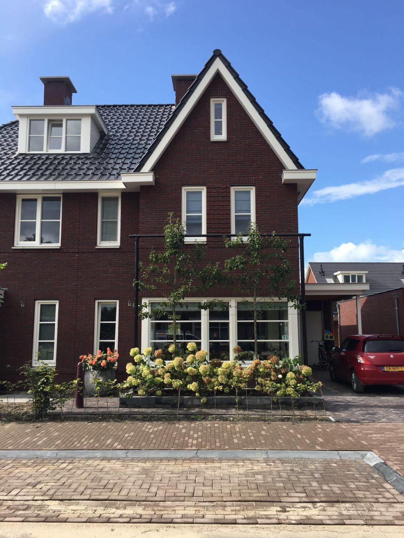 Tuin nieuwbouw Zwolle klaar