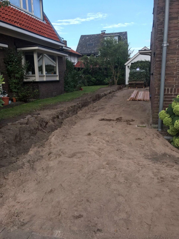 Onderweg aan de Moriaanstraat in Apeldoorn